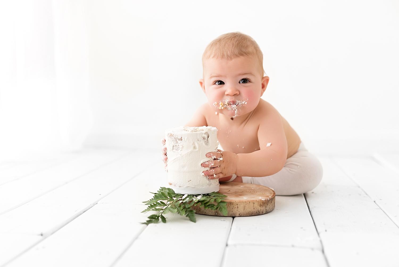 Cake Smash Photography Little White Photography Hemel